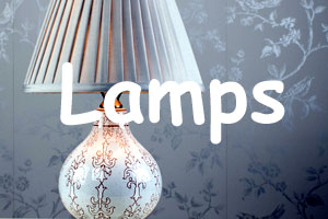 Lamps at Lakewood Furniture